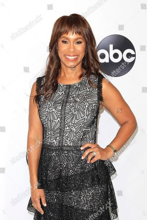 US actress Channing Dungey arrives at the ABC TCA Summer Press Tour 2018 at the Beverly Hilton Hotel in Beverly Hills, California, USA 07 August 2018.
