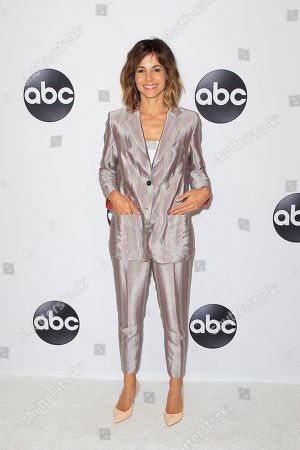 US actress Stephanie Szostak arrives at the ABC TCA Summer Press Tour 2018 at the Beverly Hilton Hotel in Beverly Hills, California, USA 07 August 2018.