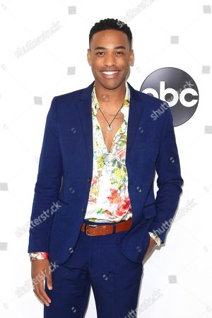 US actor Titus Makin Jr arrives at the ABC TCA Summer Press Tour 2018 at the Beverly Hilton Hotel in Beverly Hills, California, USA 07 August 2018.