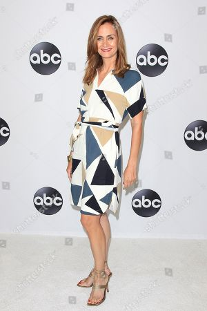 US actress Diane Farr arrives at the ABC TCA Summer Press Tour 2018 at the Beverly Hilton Hotel in Beverly Hills, California, USA, 07 August 2018.