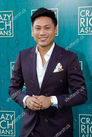US director Jon M. Chu attends the US premiere of 'Crazy Rich Asians' at the TCL Chinese Theatre IMAX in Hollywood, Los Angeles, California, USA, 07 August 2018. Chu's movie opens in the US on 15 August.