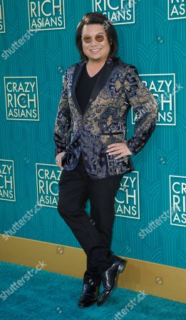 US author/executive producer Kevin Kwan attends the US premiere of 'Crazy Rich Asians' at the TCL Chinese Theatre IMAX in Hollywood, Los Angeles, California, USA, 07 August 2018. The movie adaptation of Kwan's book opens in the US on 15 August.