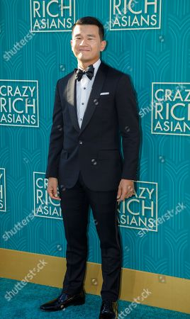 US-Malaysian actor/cast member Ronny Chieng attends the US premiere of 'Crazy Rich Asians' at the TCL Chinese Theatre IMAX in Hollywood, Los Angeles, California, USA, 07 August 2018. The movie adaptation of Kwan's book opens in the US on 15 August.