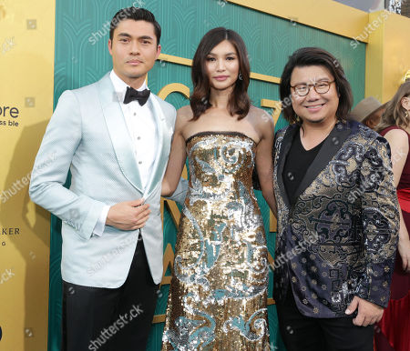 Henry Golding, Gemma Chan, Kevin Kwan, executive producer/writer