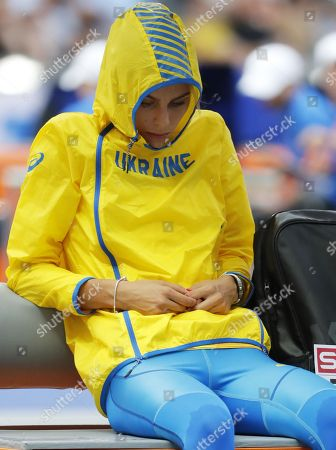 Yuliya Levchenko of Ukraine waits for the start of the women's High Jump qualification at the Athletics 2018 European Championships, Berlin, Germany, 08 August 2018.