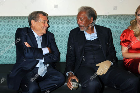 Sol Kerzner and Morgan Freeman
