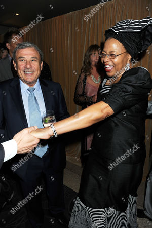 Sol Kerzner and Graca Machel