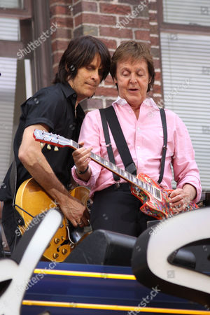 Rusty Anderson and Sir Paul McCartney