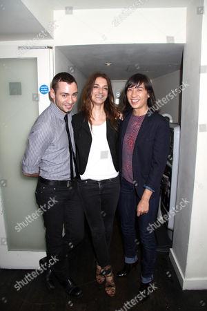 Jonathan Kelsey, Joana Preiss and Sara Dunlop