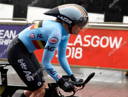 Editorial picture of Britain Cycling European Championships, Glasgow, United Kingdom - 08 Aug 2018