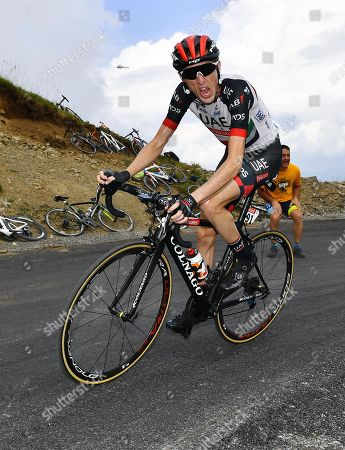 Tour de France stage 17 to saint-lary soulan col du portet 2250m Dan Martin Ireland UAE 2nd on stage
