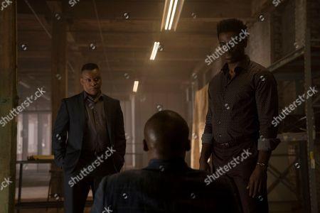 Kevin Mambo as Sheldon Shaw, Mustafa Shakir as John 'Bushmaster' McIver