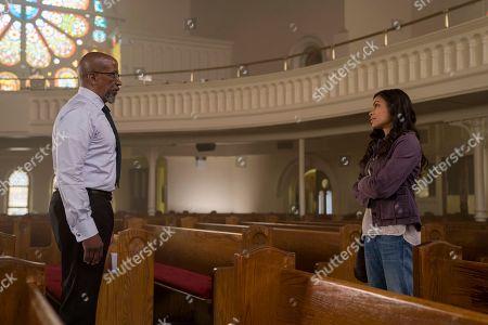 Reg E. Cathey as James Lucas, Rosario Dawson as Claire Temple