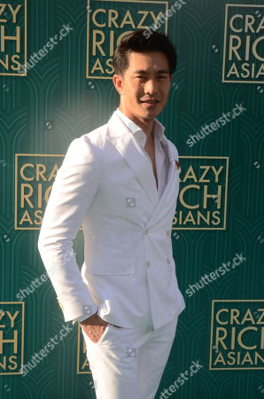Editorial picture of 'Crazy Rich Asians' film premiere, Arrivals, Los Angeles, USA - 07 Aug 2018