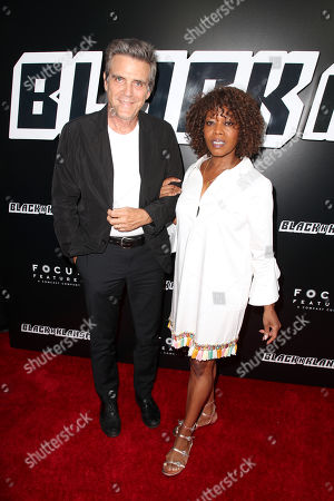 Stock Image of Roderick Spencer and Alfre Woodard