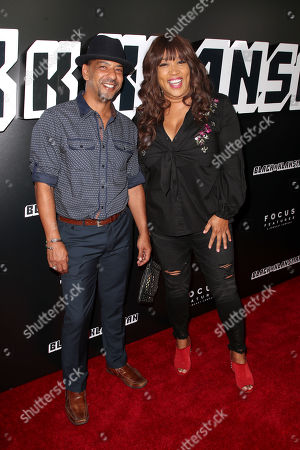 Stock Picture of Kym Whitley and guest