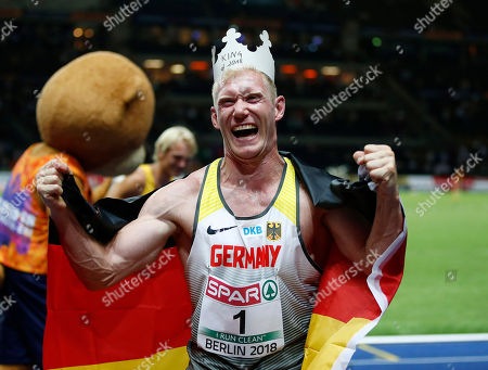 Arthur ABELE (GER) during the European Championships 2018, at Olympic Stadium in Berlin, Germany, Day 2, on August 8, 2018