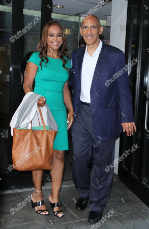 Lauren Dungy and Tony Dungy