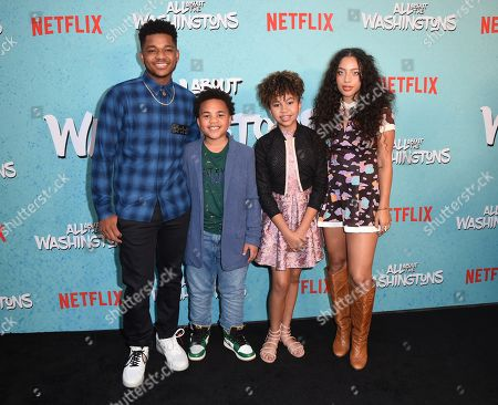 Editorial image of 'All About The Washingtons' TV show premiere, Los Angeles, USA - 08 Aug 2018