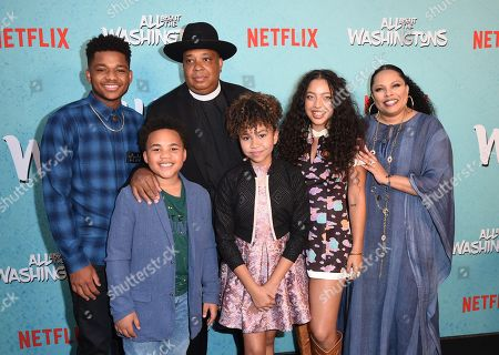 Editorial photo of 'All About The Washingtons' TV show premiere, Los Angeles, USA - 08 Aug 2018