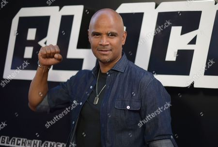 "Dondre Whitfield arrives at the premiere of ""BlacKkKlansman"", at the Samuel Goldwyn Theater in Beverly Hills, Calif"