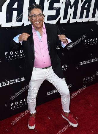 """Nick Turturro arrives at the premiere of """"BlacKkKlansman"""", at the Samuel Goldwyn Theater in Beverly Hills, Calif"""