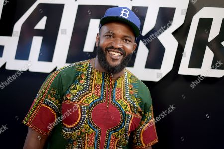 "Sal Masekela arrives at the premiere of ""BlacKkKlansman"", at the Samuel Goldwyn Theater in Beverly Hills, Calif"