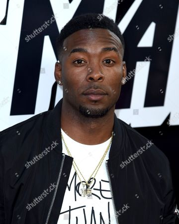 "Andrew Hawkins arrives at the premiere of ""BlacKkKlansman"", at the Samuel Goldwyn Theater in Beverly Hills, Calif"