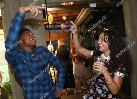 Nathan Anderson, Kiana Ledé. Nathan Anderson, left, and Kiana Ledé are seen at Netflix's All About the Washingtons Premiere Party at Madera Kitchen on in Los Angeles