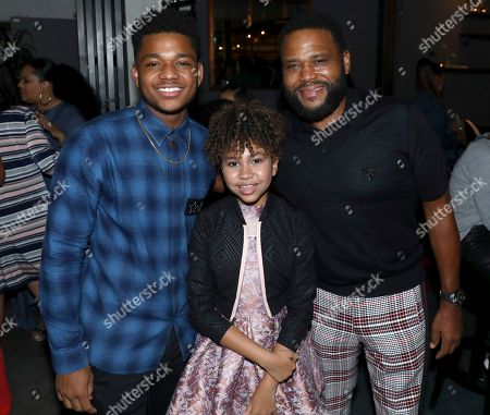 Nathan Anderson, Leah Rose Randall, Anthony Anderson. Nathan Anderson, from left, Leah Rose Randall and Anthony Anderson are seen at Netflix's All About the Washingtons Premiere Party at Madera Kitchen on in Los Angeles