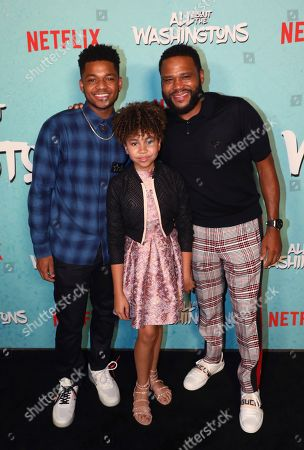Editorial image of Netflix's All About the Washingtons Premiere Party, Los Angeles, USA - 08 Aug 2018