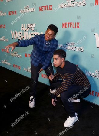 Editorial picture of Netflix's All About the Washingtons Premiere Party, Los Angeles, USA - 08 Aug 2018