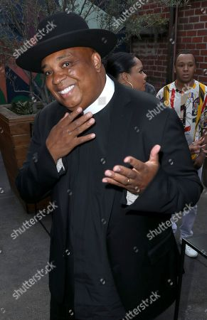 Joseph Simmons is seen at Netflix's All About the Washingtons Premiere Party at Madera Kitchen on in Los Angeles