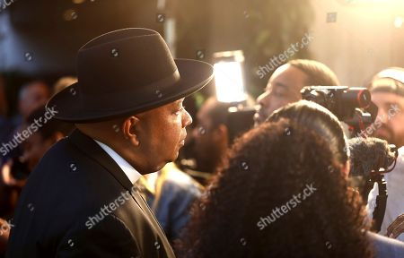 Joseph Simmons, Justine Simmons. Joseph Simmons, left, and Justine Simmons are seen at Netflix's All About the Washingtons Premiere Party at Madera Kitchen on in Los Angeles
