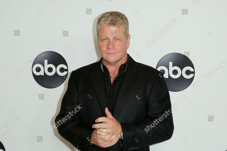 Michael Cudlitz arrives at the Disney/ABC 2018 Television Critics Association Summer Press Tour at the Beverly Hilton, in Beverly Hills, Calif