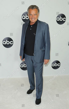 Ray Wise arrives at the Disney/ABC 2018 Television Critics Association Summer Press Tour at the Beverly Hilton, in Beverly Hills, Calif
