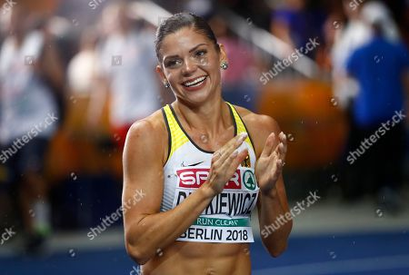 Editorial image of Athletics Europeans, Berlin, Germany - 09 Aug 2018
