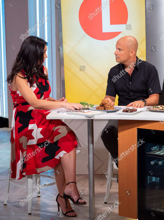 Editorial picture of 'Lorraine' TV show, London, UK - 09 Aug 2018