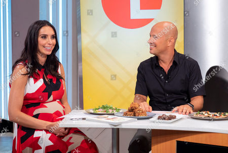 Stock Image of Christine Lampard and Dale Pinnock