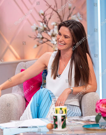 Editorial photo of 'Lorraine' TV show, London, UK - 09 Aug 2018