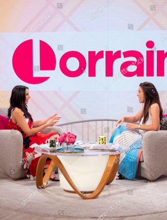 Editorial image of 'Lorraine' TV show, London, UK - 09 Aug 2018