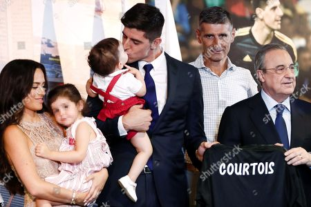 Editorial picture of Real Madrid presents Courtois as new goalkeeper, Spain - 09 Aug 2018