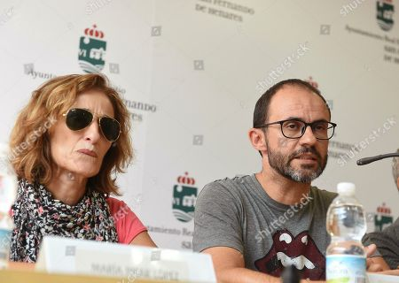 Editorial photo of Relatives of Arantxa Gutierrez Lopez attend a press conference in Madrid, Spain - 09 Aug 2018