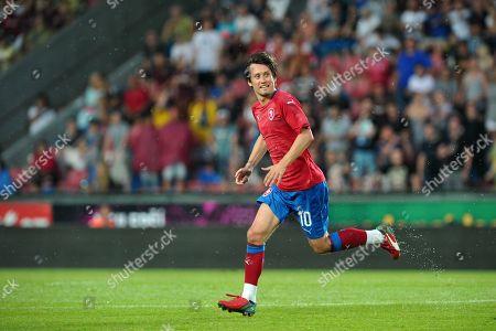 Editorial photo of Arsenal midfielder Tomas Rosicky retires, Prague, Czch Republic - 09 Jun 2018