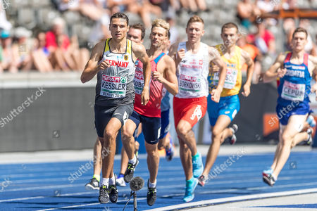 Editorial photo of European Athletics Championships, Olympic Stadium, Berlin, Germany - 09 Aug 2018