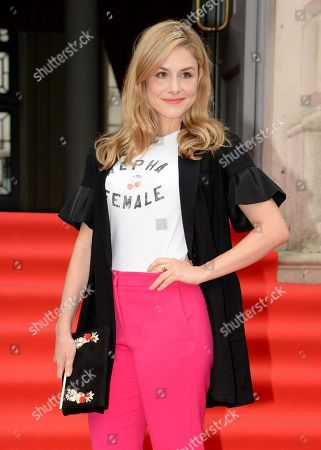 Editorial picture of 'The Wife' Film4 Summer Screen film premiere and opening gala, Somerset House, London, UK - 09 Aug 2018