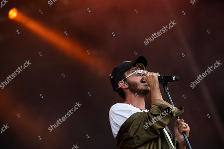 Belgian singer Max Colombie performs his Oscar and the Wolf music project at the 26th Sziget (Island) Festival in Northern Budapest, Hungary, 09 August 2018. The Sziget Festival is one of the biggest cultural events of Europe offering art exhibitions, theatrical and circus performances and above all music concerts. The festival runs between 08 and 15 August.