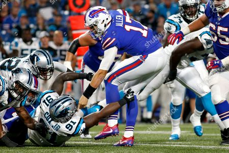 Editorial picture of Panthers Bills Football, Orchard Park, USA - 09 Aug 2018