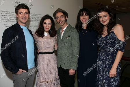 Emmet Kirwan (Eamon), Elaine Cassidy (Alice), David Dawson (Casimir), Eileen Walsh (Judith) and Aisling Loftus (Claire)
