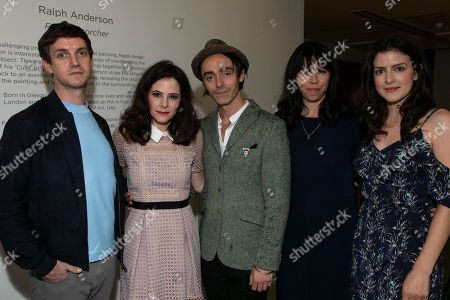 Stock Picture of Emmet Kirwan (Eamon), Elaine Cassidy (Alice), David Dawson (Casimir), Eileen Walsh (Judith) and Aisling Loftus (Claire)